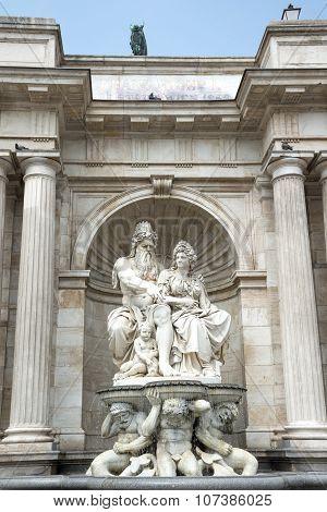 Neptune Fountain- Vienna