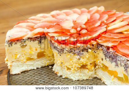 Cheesecake, Few Slices Missing