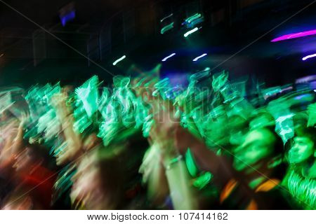 Hands Up On A Concert