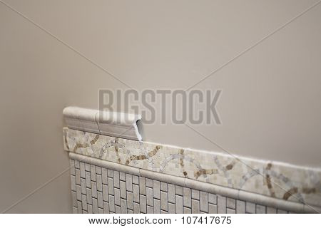Installing New Bathroom Ceramic Tile
