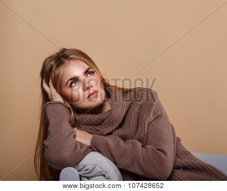 Girl In A Warm Sweater Dreams.