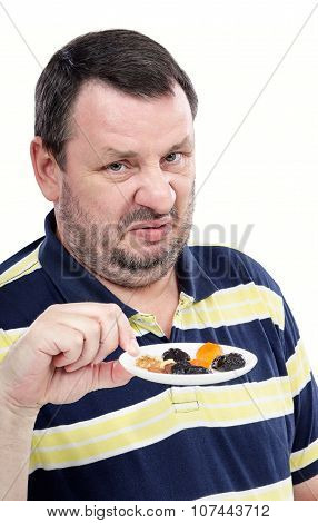 Guy has a strong aversion to dried fruits