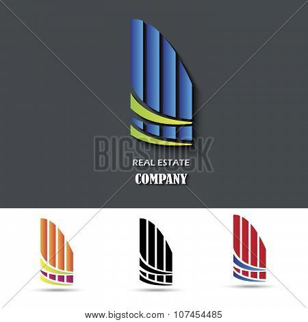 House Symbol. Creative Design. Vector Illustration