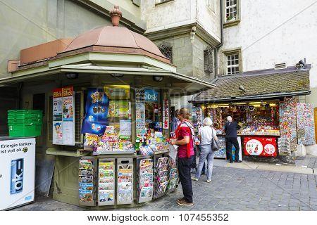 Kiosk In Bern
