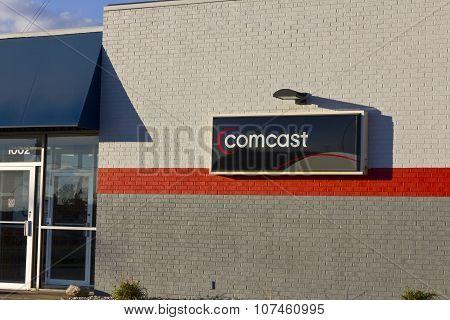 Indianapolis - November 2015: Comcast Service Center