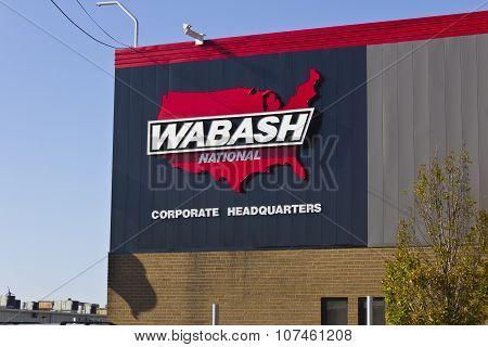 Lafayette, IN - November 2015: Wabash National Corporation Headquarters II