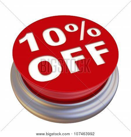 10 percent Off Button