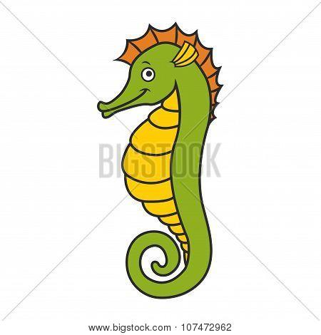 cute seahorse