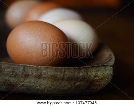 Eggs Natural Light