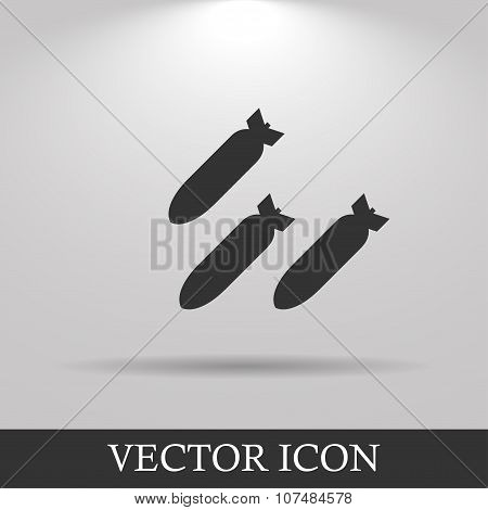 Air Bomb Vector Icon