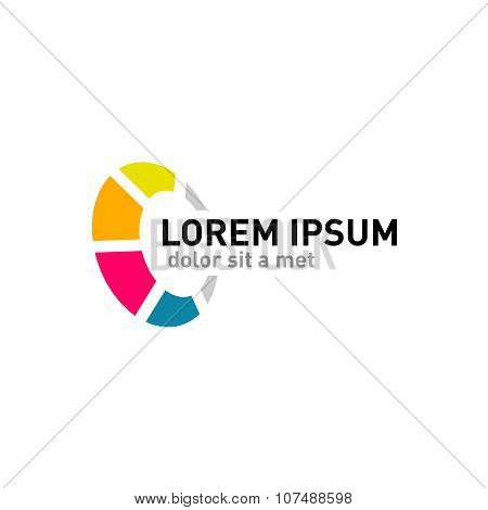 Abstract Round Logo Template