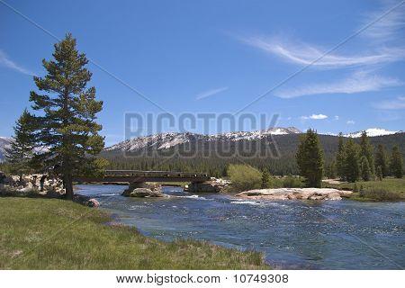 Bridge across Tuolumne River, Yosemite