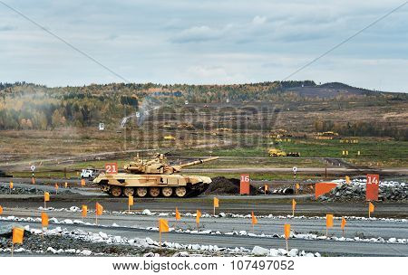 Modernized Main Battle Tank T-90S