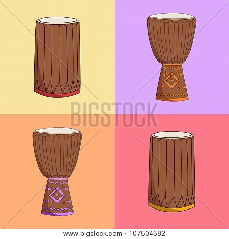 djembe and dunumba