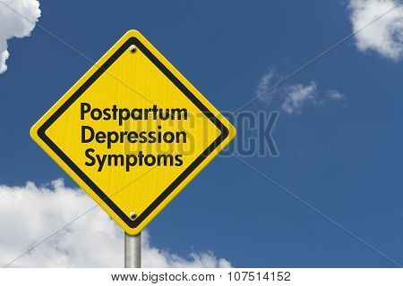 postnatal depression poster abstract