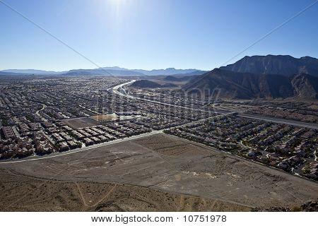 Lone Mountain View Nevada