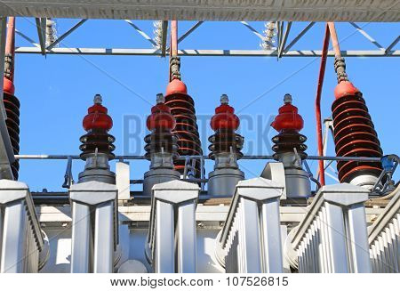 Electrical Devices In A Power Station For Producing Electricity
