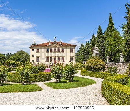 Villa Valmarana Ai Nani In  Vicenza