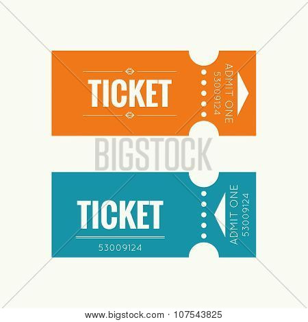 Entry ticke vector