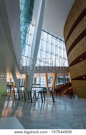 Interior Of Oslo Opera House, Norway