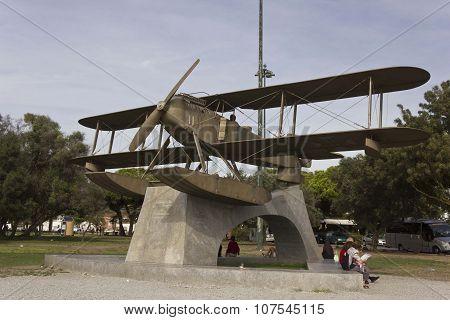 Santa Cruz Fairey Seaplane Monument