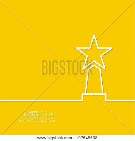 The award, star winner