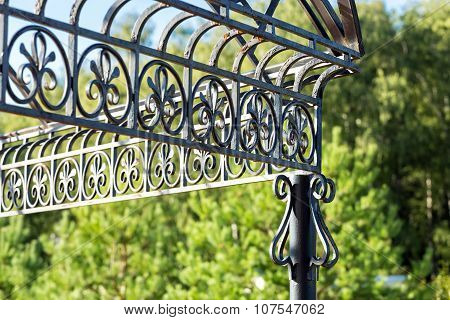 Forged Metal Close-up