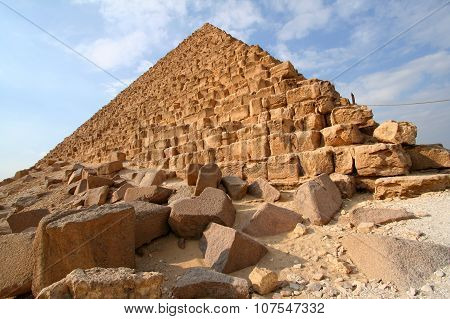 Egyptian pyramid