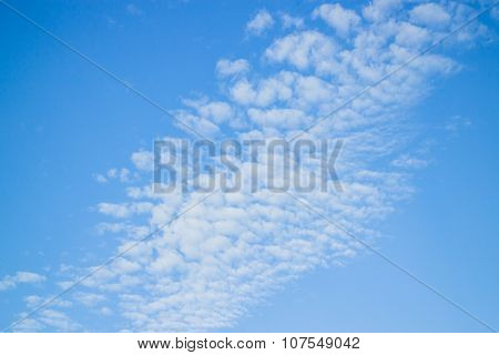Beauty Blue Sky With Cloud