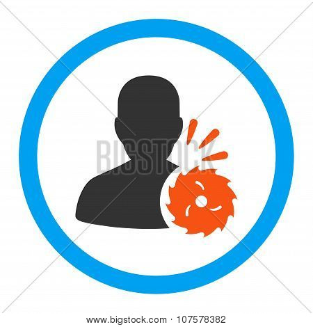 Body Execution Rounded Vector Icon