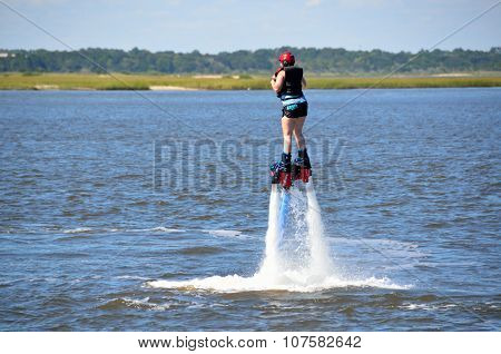 The New Extreme sport called Flyboard