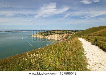 Isle of Wight footpath