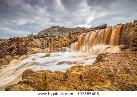 Waterfall at Rio Tinto