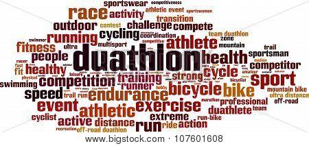 Duathlon Word Cloud
