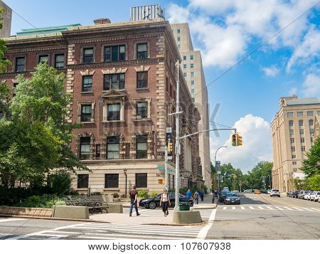 NEW YORK,USA - AUGUST 19,2015 : The Barnard liberal arts college for women in New York City