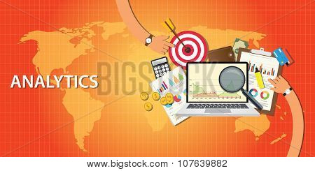 analytics data from website and get traffic