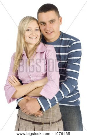 Young Couple Standing