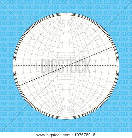 Globe In Contours