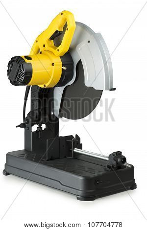 Chop Saws On White Background