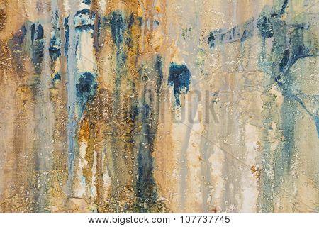 Mixed Media Abstract Texture
