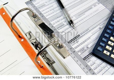Office file with documents