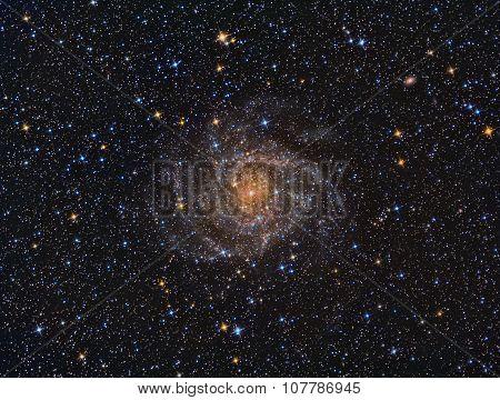 IC342 Spiral Galaxy