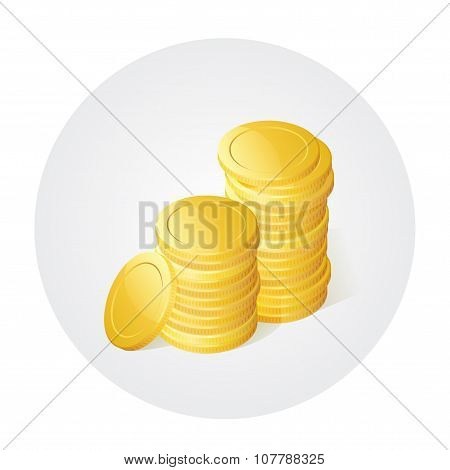 Golded coins