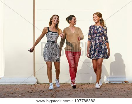 group of young women. leisure freetime