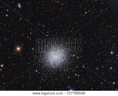 M13 Globular Cluster in constellation Hercules