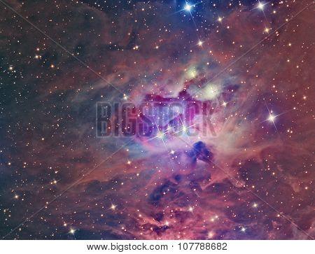 NGC 1973 Running Man Nebula