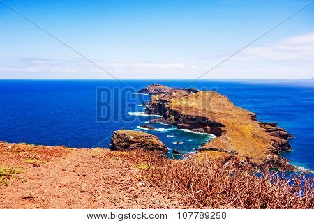 The Most Easterly Point On Madeira