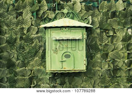 Green Postbox