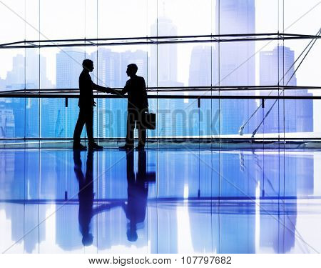 Business People Making Agreement Partnership Concept