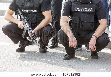 Customs drugs detection